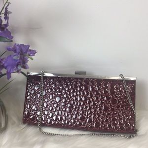 ⭐️Apostrophe Faux Leather Clutch Bag⭐️